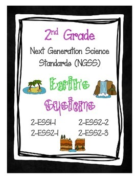 2nd Grade NGSS - Earth's Systems (2-ESS1-1, 2-ESS2-1, 2-ES