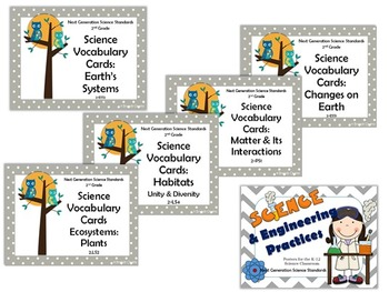 2nd Grade NGSS Science Bundle