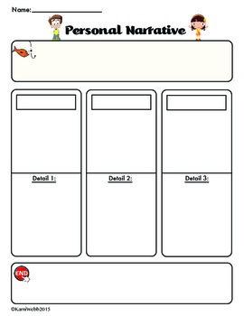 2nd Grade Narrative Outline
