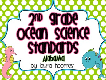 2nd Grade Ocean Standards- ALABAMA Science