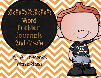 2nd Grade October Math Word Problems