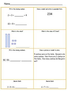 2nd Grade October Review