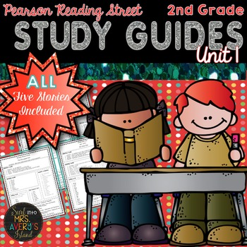 Reading Street Unit 1 Study Guides 2nd Grade