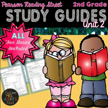 Reading Street Unit 2 Study Guides 2nd Grade
