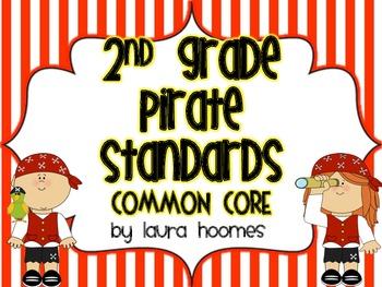 2nd Grade Pirate Standards COMMON CORE