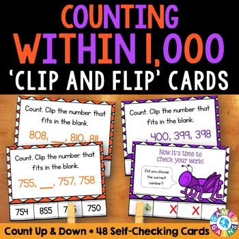 2nd Grade Place Value Activity: Counting to 1,000 (2.NBT.2)
