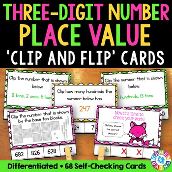 2nd Grade Place Value Activity: Three-Digit Numbers (2.NBT.1)
