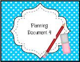 2nd Grade TEKS Planning Doc. Unit 4