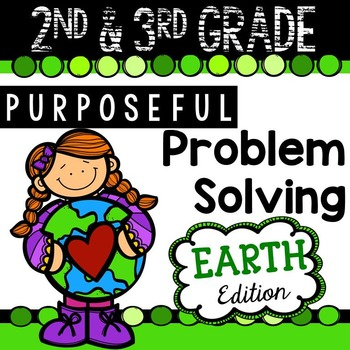 2nd & 3rd Grade Problem Solving: Earth Edition