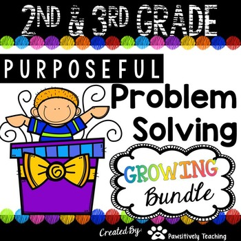 2nd & 3rd Grade Problem Solving: Bundle