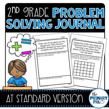 2nd Grade Common Core Problem Solving Journal: At Standard