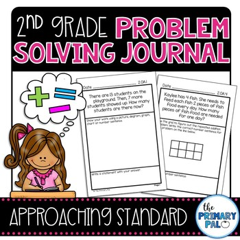 2nd Grade Common Core Problem Solving Journal: Approaching