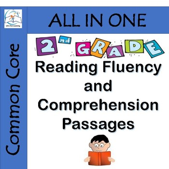 2nd Grade Reading Fluency and Comprehension Passages {ENTI
