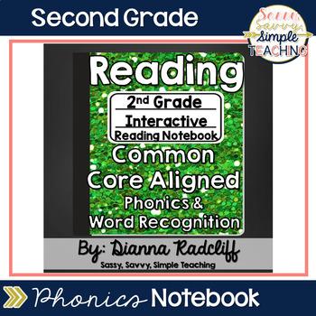 2nd Grade Reading (Phonics & Word Rec) Interactive Journal