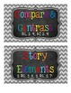2nd Grade Reading Strategy Tub Labels (with Common Core St