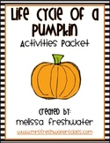 2nd Grade Reading Street Unit 4.2 Life Cycle of a Pumpkin