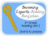 2nd Grade Reading Unit 2 Nonfiction Charts & Teaching Points