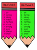 2nd Grade Reading Wonders Unit 5 Week 3 HFW Pencil Pairs