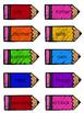 2nd Grade Reading Wonders Unit 5 Week 4 HFW Pencil Pairs