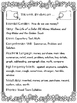 2nd Grade Reading Wonders Unit 6 Week 4 Guided Reading & A