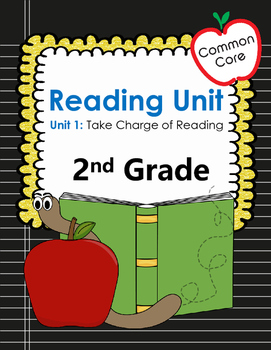 Common Core 2nd Grade Reading Workshop Lessons Unit 1: Tak