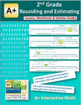 2nd Grade Rounding and Estimating Lessons, Worksheets, Sol