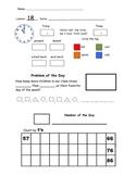 2nd Grade Saxon Math Meeting Forms