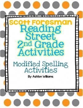 2nd Grade Scott Foresman Reading Street Modified Spelling