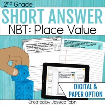2nd Grade Short Answer- Numbers and Operations in Base Ten NBT