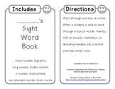 2nd Grade Sight Words Book