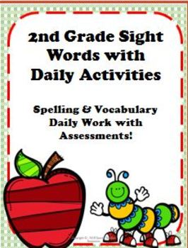 2nd Grade Site Word Packet with Activities