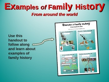 """2nd Grade Social Studies """"Family History"""" - engaging PPT a"""
