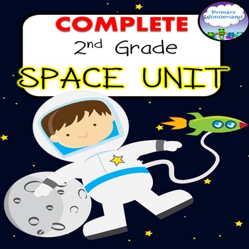 2nd Grade Space Unit COMPLETE with  Power Point and No-Pre