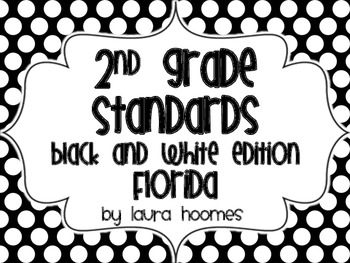 2nd Grade Super Standards COMMON CORE Florida