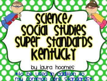 2nd Grade Super Standards- KENTUCKY Science/Social Studies