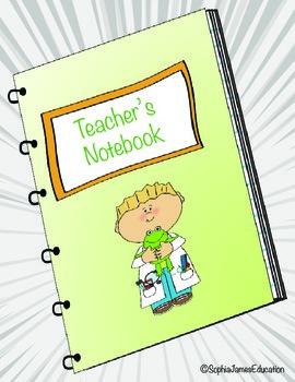 2nd Grade Teacher's Notebook