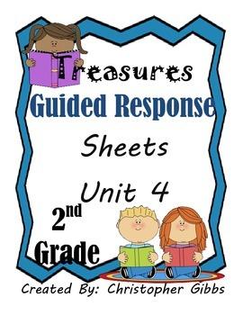 2nd Grade Treasures Program Guided Reading Response Sheets
