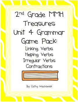 2nd Grade Treasures Unit 4 Grammar Pack