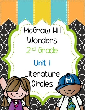 2nd Grade Unit 1 Literature Circles