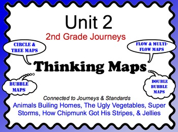 2nd Grade Unit 2 Journeys Thinking Maps
