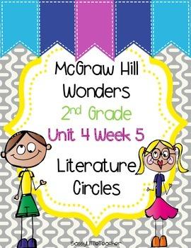 2nd Grade Unit 4 Week 5 Literature Circles