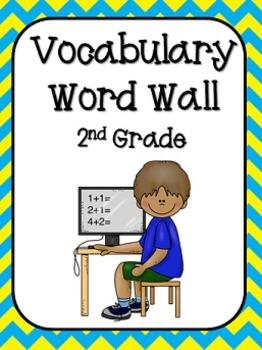 2nd Grade Vocabulary Word Wall