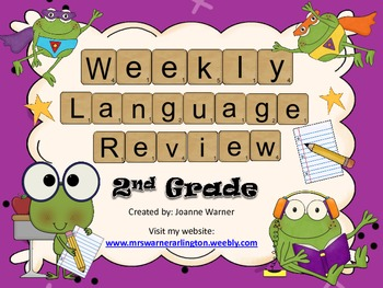 2nd Grade Weekly Language Review