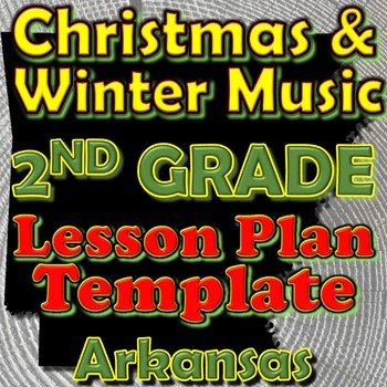 2nd Grade Winter Holidays Christmas Unit Lesson Plan Templ