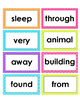 2nd Grade Reading Wonders High Frequency Word Cards - Unit 4