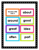 2nd Grade Reading Wonders High Frequency Word Cards -- YEA