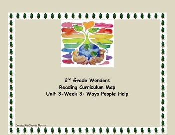 2nd Grade Wonders Reading Curriculum Map Unit 3-Week 3
