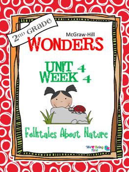 2nd Grade Wonders Reading ~ Unit 4 Week 4 ~ Folktales Abou