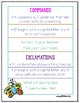 2nd Grade Wonders Unit 1 Week 2 Grammar Charts and Assessments