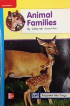 2nd Grade Wonders Unit 2 Week 4 On Level Response - Animal